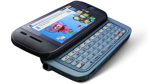 LG смартфон GW620 Android