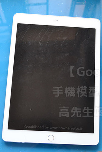 В Сети появились фото iPad Air 2 со сканером Touch ID
