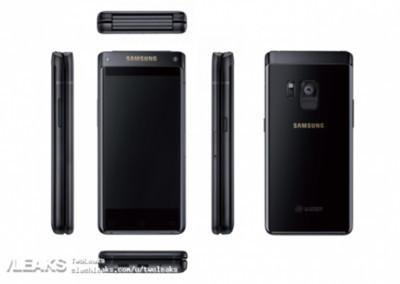 Компания Самсунг выпустила новый смартфон с 2-мя экранами
