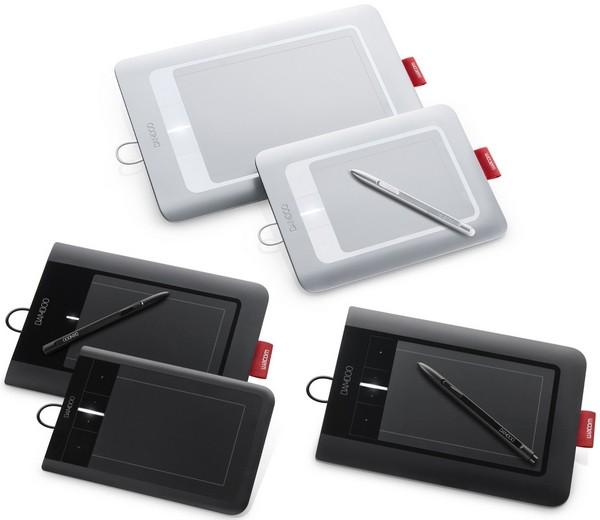 Wacom интерактивный планшет Bamboo перьевой и multi-touch ввод