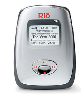 Rio представила убийцу iPod - мини-плеер Carbon