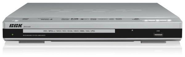 BBK DVD плеер DV214SI