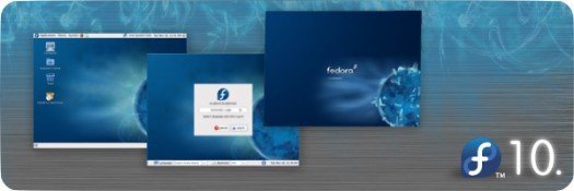 Fedora 10 Linux Red Hat