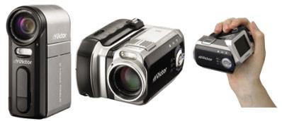JVC представила камеры с жестким диском