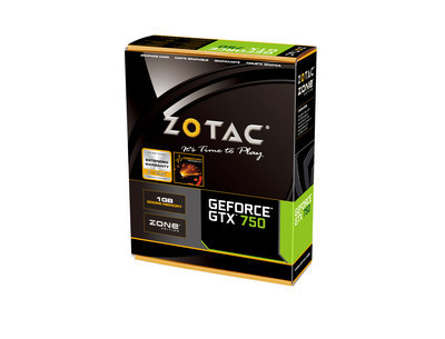 ZOTAC представила абсолютно бесшумную версию графической карты GeForce GTX 750