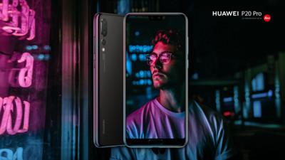 В Российской Федерации 21мая стартуют продажи Huawei P20 Pro в«сумеречном» цвете