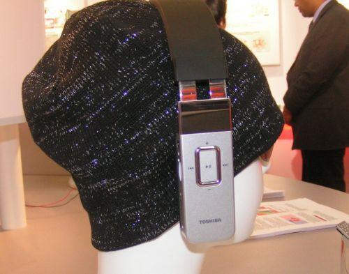 Плеер-наушники от Toshiba