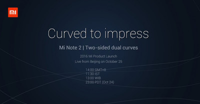 Xiaomi MiNote 2— 1-ый смартфон компании сизогнутым дисплеем