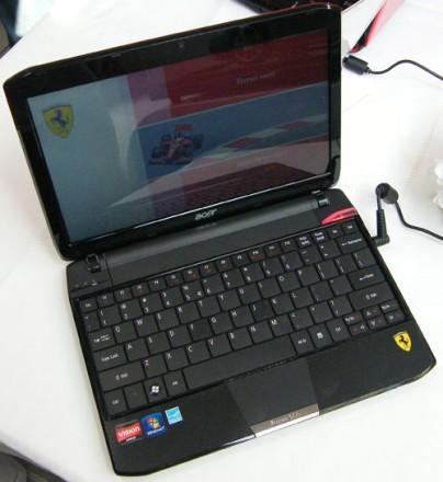 acer нетбук Ferrari One HD amd Athlon X2 vision