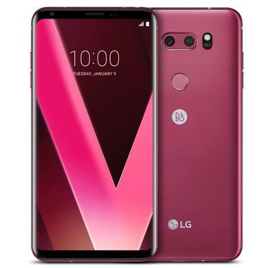 LG прибавит телефону LGV30 новый цвет Raspberry Rose