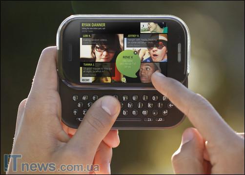 Microsoft анонсирует новый Windows Phone KIN – телефон для общения в социальных сетях
