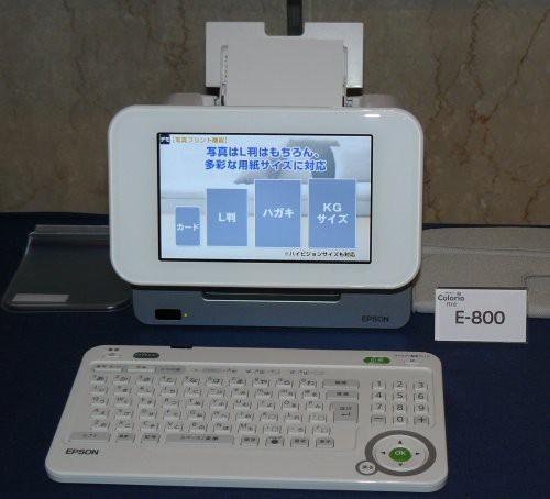 Epson принтер фоторамка E-800 Colorio Me