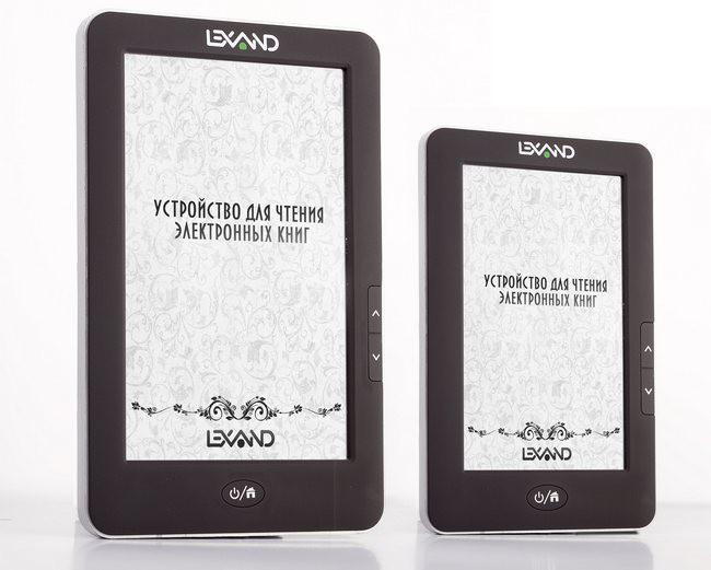 сенсорные книги Lexand E-Ink и TFT