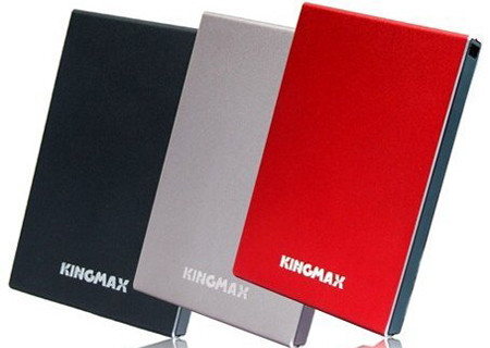Kingmax KE-91 – портативный жесткий диск объемом 640 ГБ с AES-шифрованием