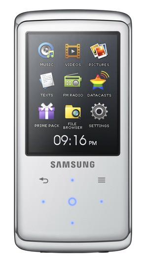 Samsung MP3 плеер Q2 видео