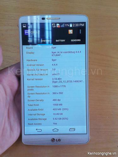 """8-ядерный смартфон LG Liger (F490L) с чипом LG Odin """"отметился"""" на фото"""