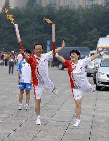 Факелы в Пекине