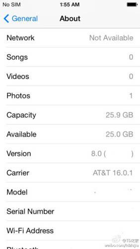 Операционная система iOS 8 получит приложения TextEdit и Preview
