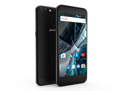 Archos анонсировала бюджетные мобильные телефоны 50 Graphite и55 Graphite