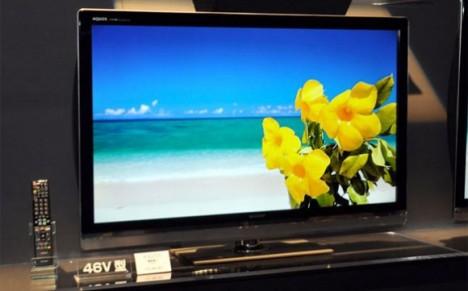 3D-телевизоры Sharp Quattron с панелями Full HD 1080p