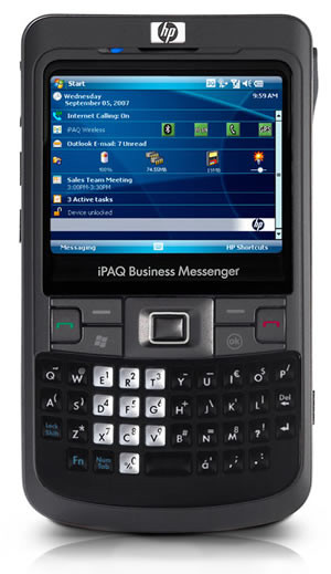 HP iPAQ 914 Series Business Messenger