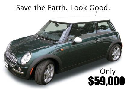 Mini Cooper на батарейках за $59000