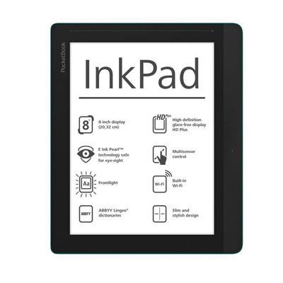 Анонсирован PocketBook InkPad со светодиодной надсветкой