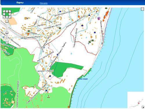 Map i.ua карта: Ялта