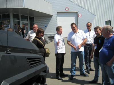 """Какие новинки боевых автомобилей показала КрАЗ на """"Волонтерский военпром-2"""""""