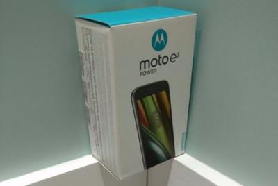 Lenovo начала продажи телефона Moto E3 Power смощным аккумулятором