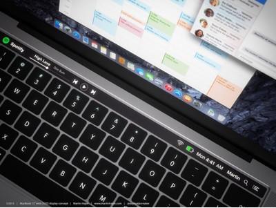 Новый MacBook сOLED-панелью будет представлен уже ксередине осени