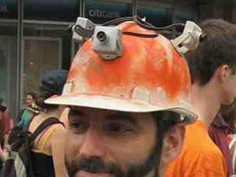 Полицейские будут носить шлемы с камерами