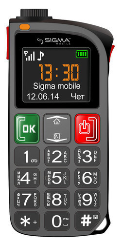 """""""Фонарик с функцией телефона"""" — Comfort 50 Light от ТМ Sigma mobile"""