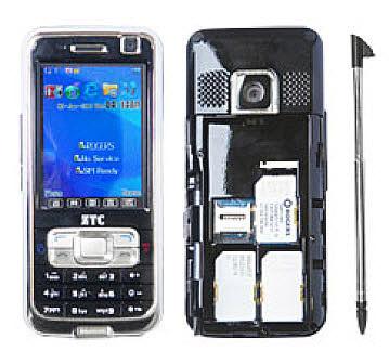 3 sim карты мобильный телефон QiiQ EcoCarrier