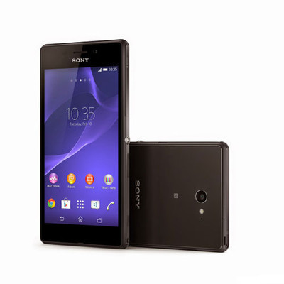 """Официально презентован """"водонепроницаемый"""" смартфон Sony Xperia M2 Aqua"""