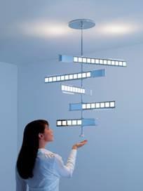 Philips OLED интерактивное освещение