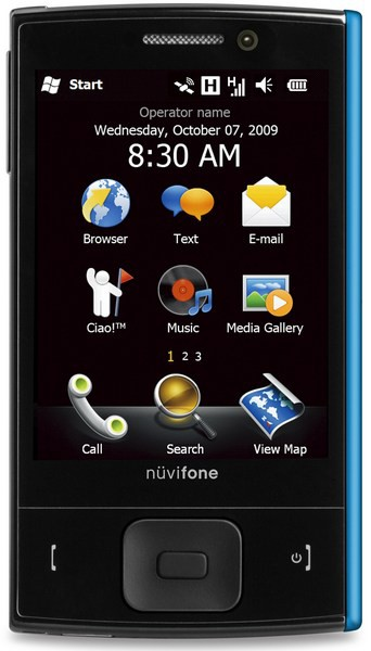Garmin Asus коммуникатор nuvifone M20 Windows Mobile 6.5
