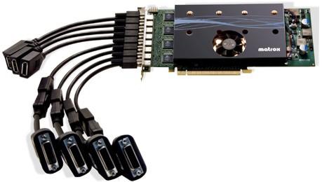 matrox M9188 PCIe x16 Octal