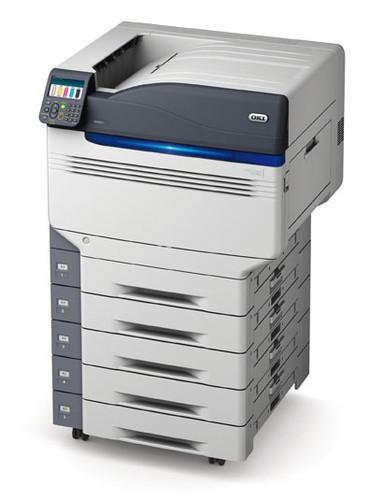 OKI представляет первый цифровой CMYK-принтер с белым и глянцевым тонером