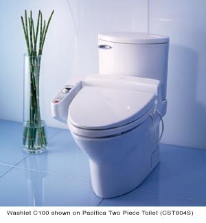 Тоtо Washlet C100 - туалет будущего