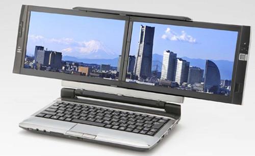 Kohjinsha ноутбук 2 экрана DZ6HKE16E