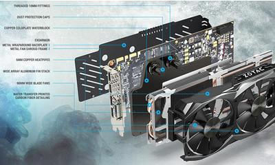 Zotac приготовила видеокарту GeForce GTX 1080 Arctic Storm спредустановленным водоблоком