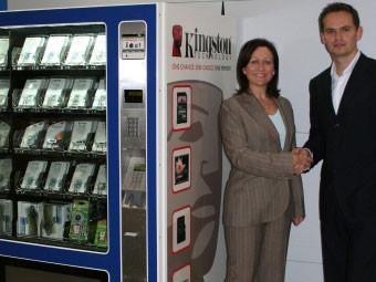 Автомат установлен в северном терминале аэропорта Gatwick