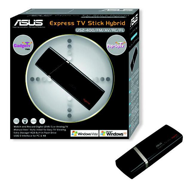 флэш ТВ-тюнер ASUS Express TV Stick
