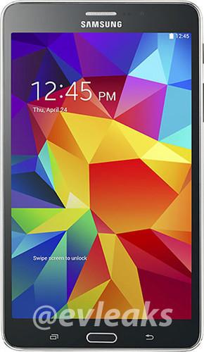 "Планшет Samsung Galaxy Tab 4 7.0 ""отметился"" на рендерных фото"