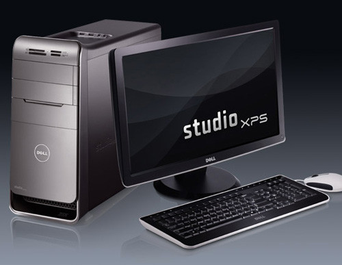 Настольный компьютер Dell Studio XPS 7100 с 6-ядерным Phenom II