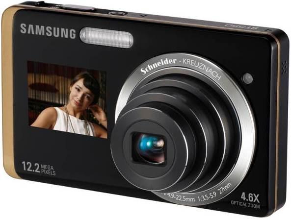 Samsung фотоаппараты ST550 два экрана HD