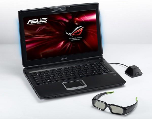 asus ноутбук 3D G51J Core i7