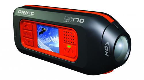 Drift представил широкоугольный спортивный камкордер с поддержкой 1080p