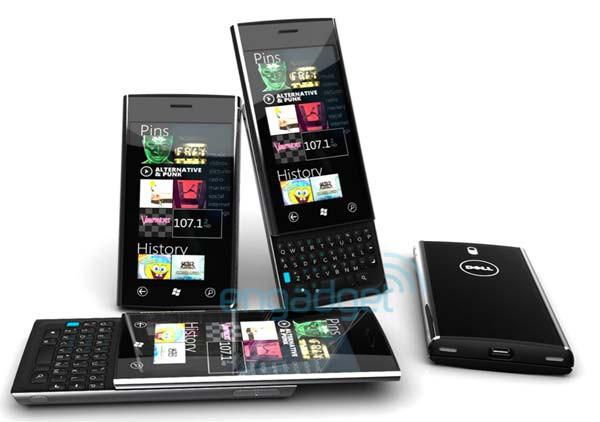 Первая информация о слайдере Dell Lightning на ОС Windows Phone 7